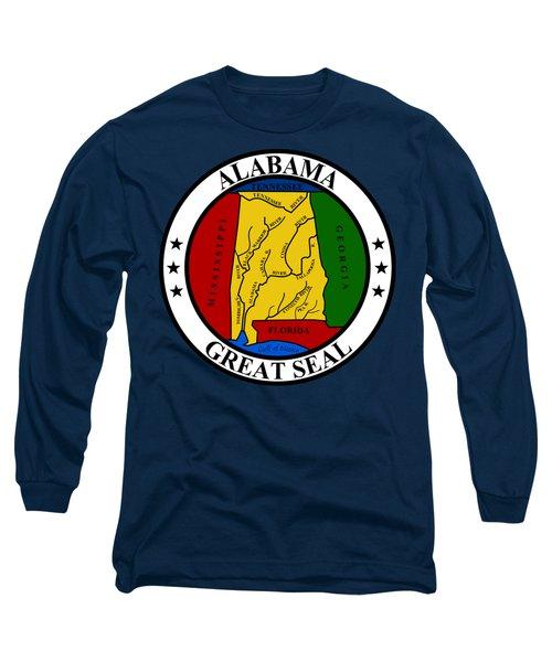 Alabama State Seal Long Sleeve T-Shirt