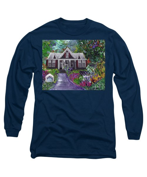 Alameda 1854 Gothic Revival - The Webster House Long Sleeve T-Shirt