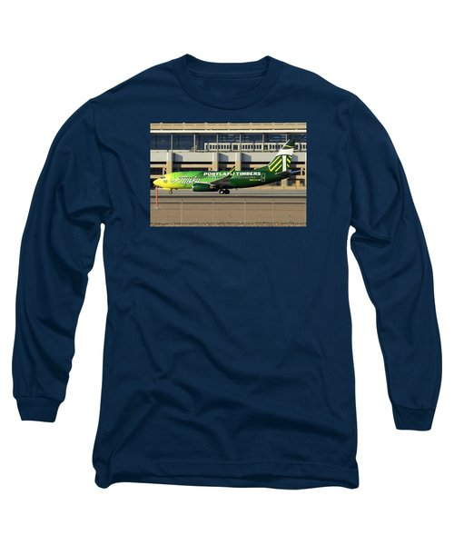 Alaska Boeing 737-790 N607as Phoenix Sky Harbor December 27 2015 Long Sleeve T-Shirt