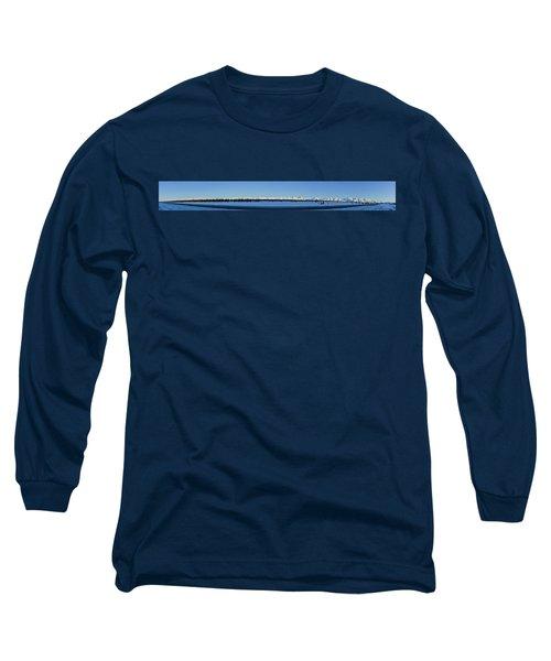 Alaska Highway Panorama Long Sleeve T-Shirt