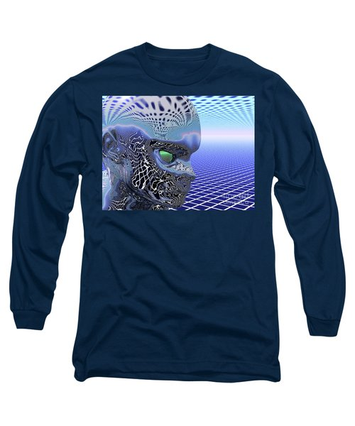 Alien Stare Long Sleeve T-Shirt