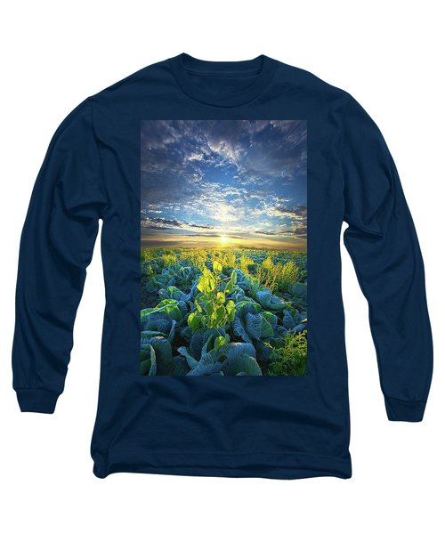 All Joined As One Long Sleeve T-Shirt by Phil Koch