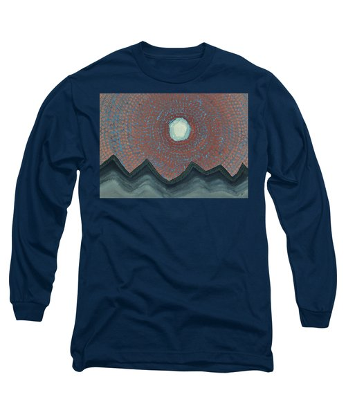 Alpine Resonance Original Painting Long Sleeve T-Shirt