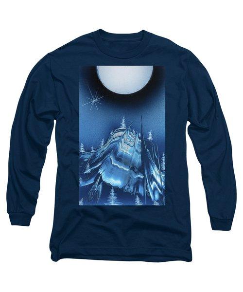 Alpine Ski Area Long Sleeve T-Shirt