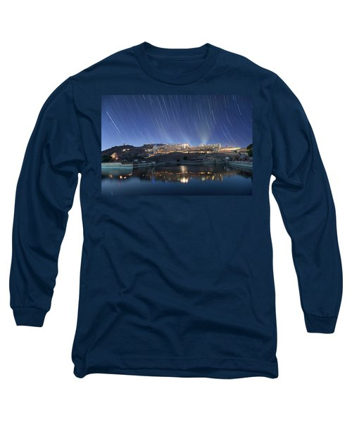 Amber Fort After Sunset Long Sleeve T-Shirt