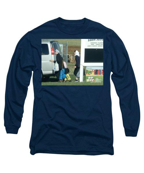 Amish Auction Long Sleeve T-Shirt