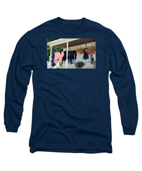Amish Clothesline Long Sleeve T-Shirt