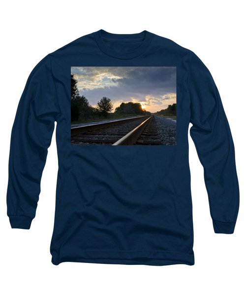 Amtrak Railroad System Long Sleeve T-Shirt
