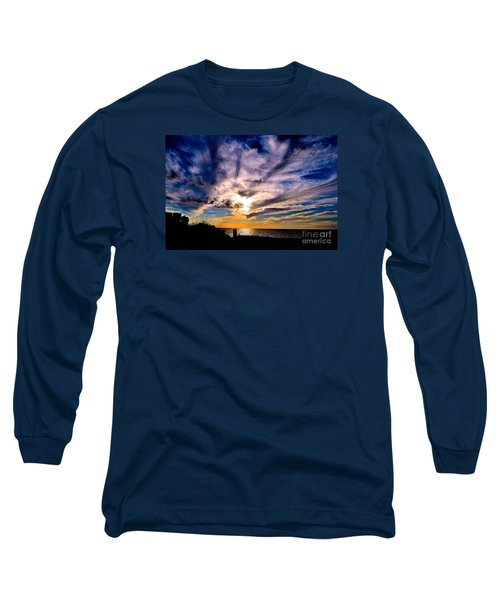 And Then There Was God Long Sleeve T-Shirt by Margie Amberge