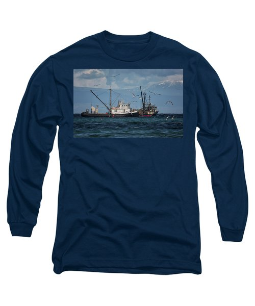 Kornat And Western Investor Long Sleeve T-Shirt by Randy Hall