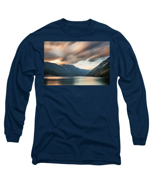 Long Sleeve T-Shirt featuring the photograph Anderson Lake Dreamscape by Pierre Leclerc Photography