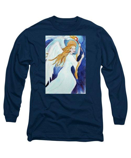 Angel Of Illumination Long Sleeve T-Shirt