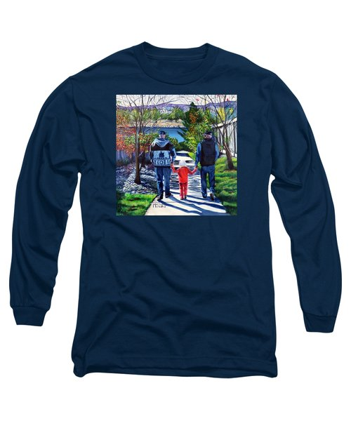 Anna's Grandpa's 2 Long Sleeve T-Shirt by Marilyn McNish