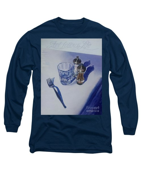 Long Sleeve T-Shirt featuring the painting Anticipation by Sandra Phryce-Jones