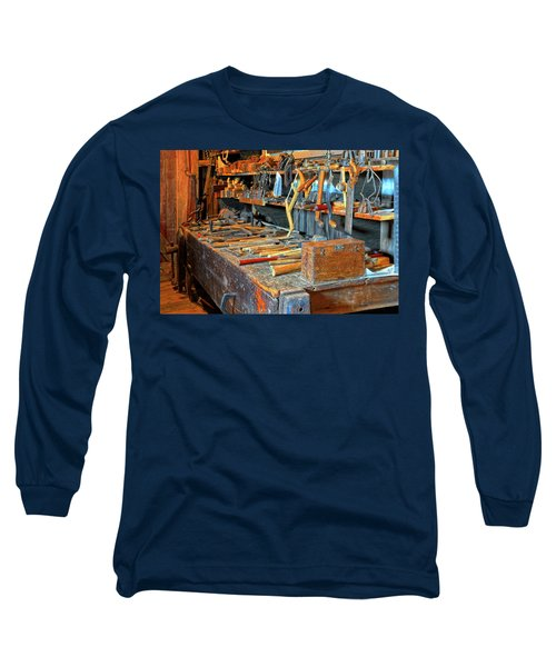 Antique Tool Bench Long Sleeve T-Shirt