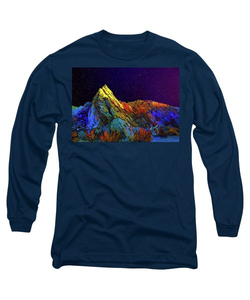 Anza Borrego Desert Peak Long Sleeve T-Shirt