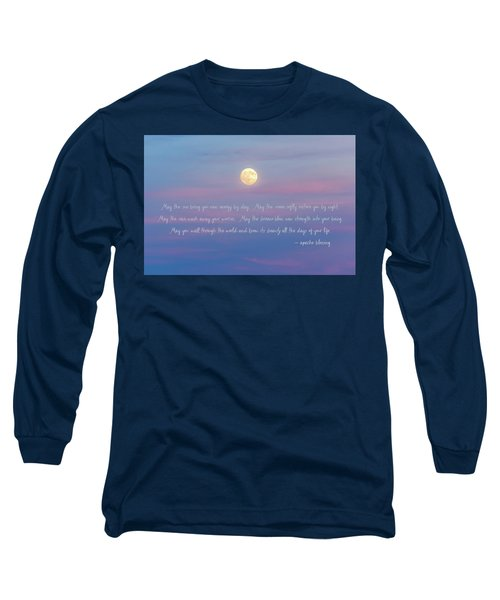 Apache Blessing Harvest Moon 2016 Long Sleeve T-Shirt