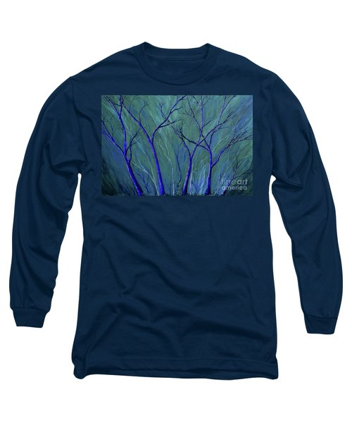 Aqua Forest Long Sleeve T-Shirt
