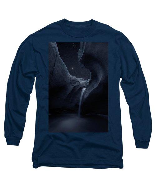 Long Sleeve T-Shirt featuring the photograph Aqua Noctem by Dustin LeFevre