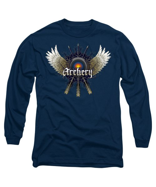 Archery Wings Long Sleeve T-Shirt by Rob Corsetti