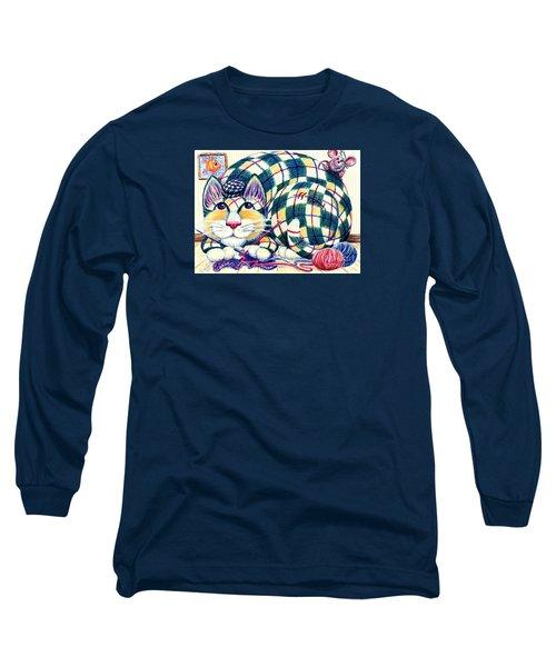 Argyle Long Sleeve T-Shirt by Dee Davis