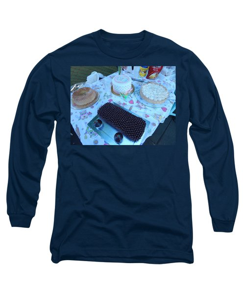 Long Sleeve T-Shirt featuring the photograph Art And Food by Beto Machado