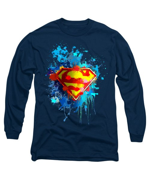 Long Sleeve T-Shirt featuring the digital art Smallville by Anthony Mwangi