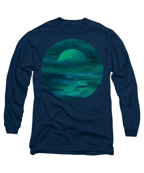Moonlight On The Water Long Sleeve T-Shirt