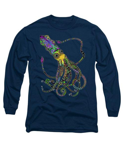 Electric Squid Long Sleeve T-Shirt