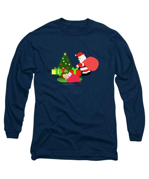 Christmas #2 No Text Long Sleeve T-Shirt