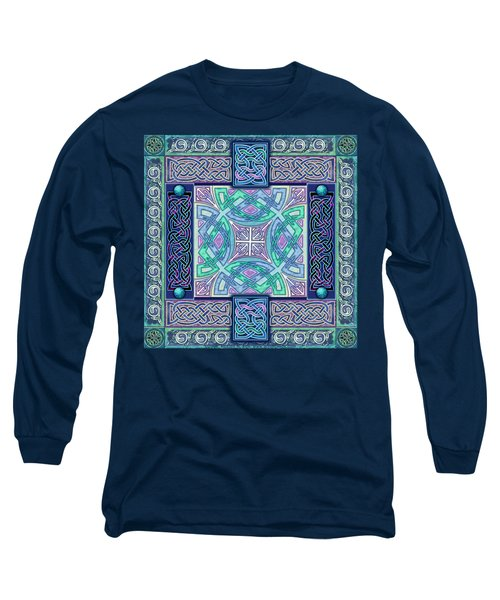 Celtic Atlantis Opal Long Sleeve T-Shirt