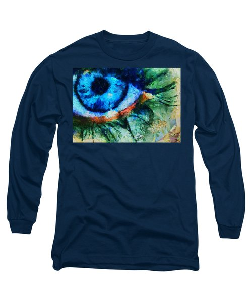 As He Said Goodbye - Painting  Long Sleeve T-Shirt