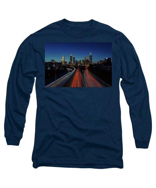Atlanta Skyline 1 Long Sleeve T-Shirt