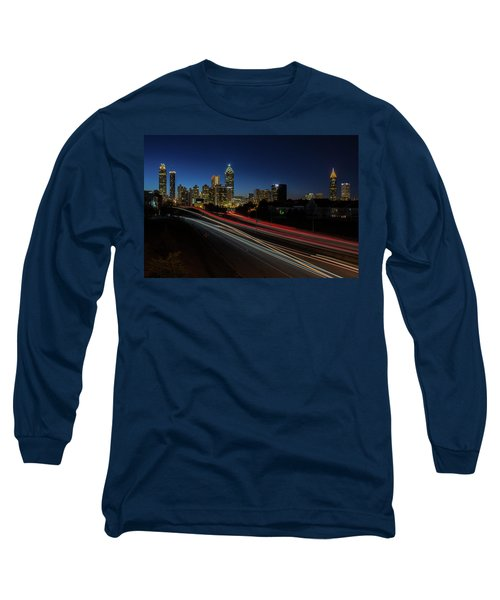 Atlanta Skyline 2 Long Sleeve T-Shirt