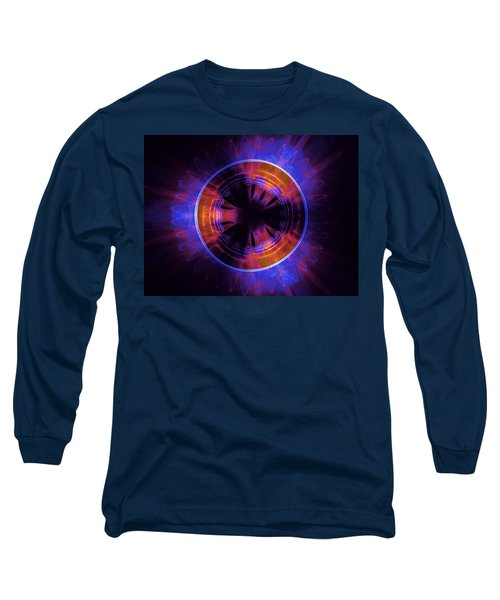atmospheric Burner with Gas Flames Long Sleeve T-Shirt