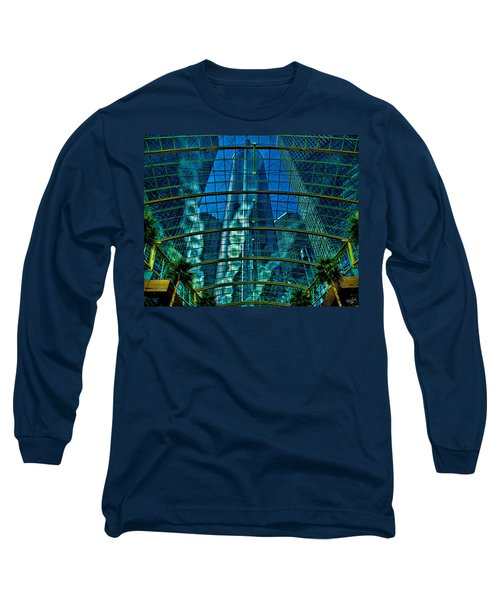Atrium Gm Building Detroit Long Sleeve T-Shirt