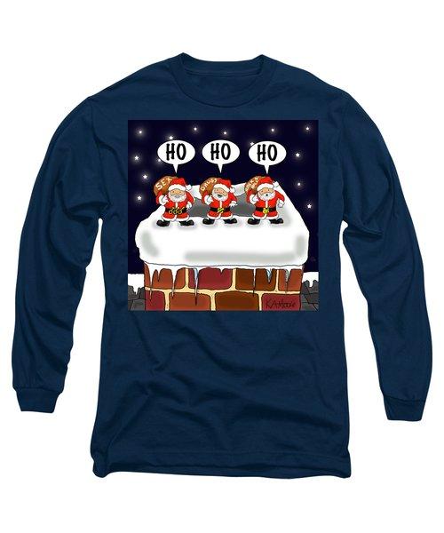 Attack Of The Mini-santas Long Sleeve T-Shirt
