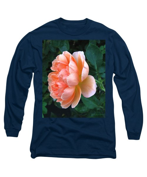 Long Sleeve T-Shirt featuring the photograph August Rose 09 by Joyce Dickens