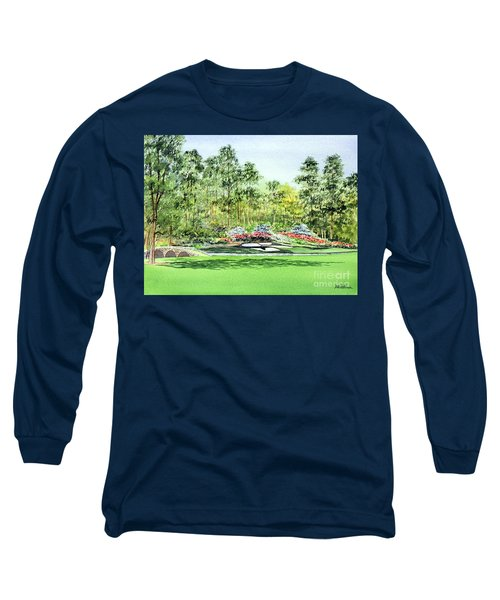 Augusta National Golf Course Long Sleeve T-Shirt by Bill Holkham