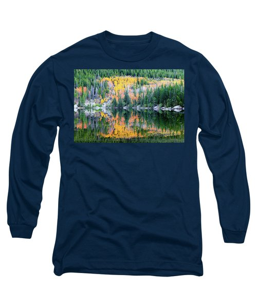 Autumn Mirror At Bear Lake Long Sleeve T-Shirt