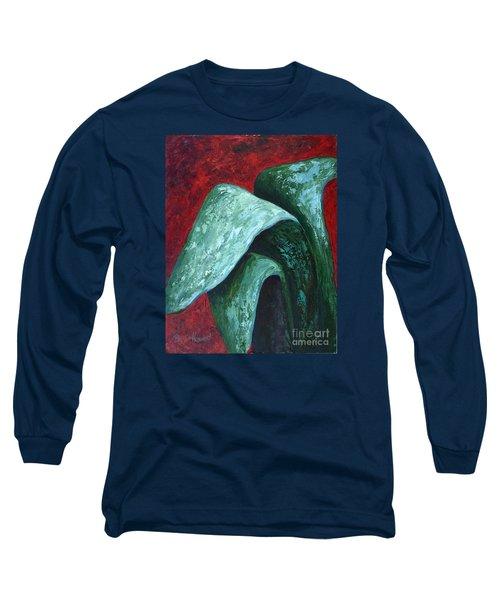 Av Leaves Long Sleeve T-Shirt by Phyllis Howard