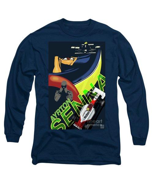 Ayrton Senna Long Sleeve T-Shirt