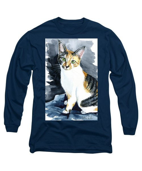 Baby - Calico Cat Painting Long Sleeve T-Shirt