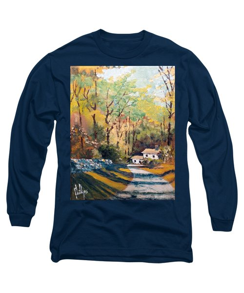 Long Sleeve T-Shirt featuring the painting Back In The Neighborhood by Jim Phillips