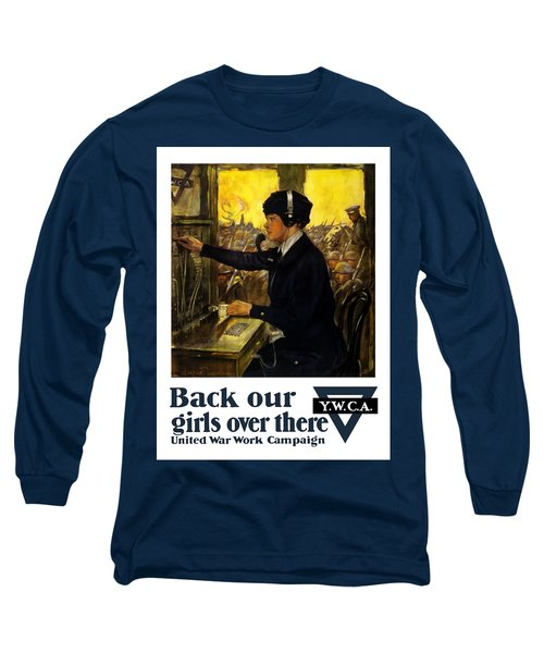 Back Our Girls Over There Long Sleeve T-Shirt