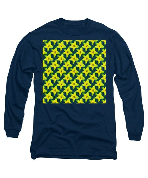 Background Choice Daffodils Long Sleeve T-Shirt