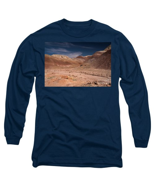 Badlands Near Hanksville Utah Long Sleeve T-Shirt