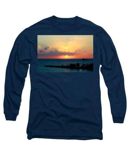 Bahamas Sunset Long Sleeve T-Shirt