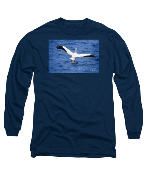 Balancing Act Long Sleeve T-Shirt by Mariarosa Rockefeller