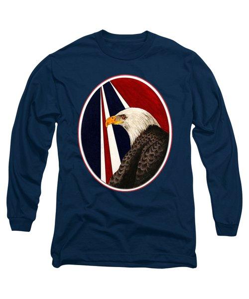 Bald Eagle T-shirt Long Sleeve T-Shirt